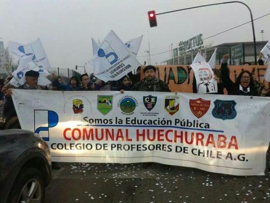 FIN DEL PARO DE PROFESORES EN HUECHURABA