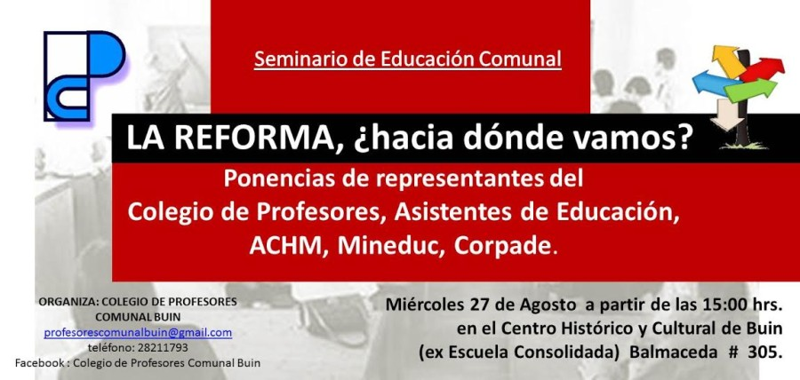 SEMINARIO DE EDUCACIÓN EN BUIN