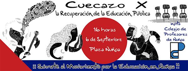Gran Cuecazo por la Recuperación de la Educación Pública en Ñuñoa