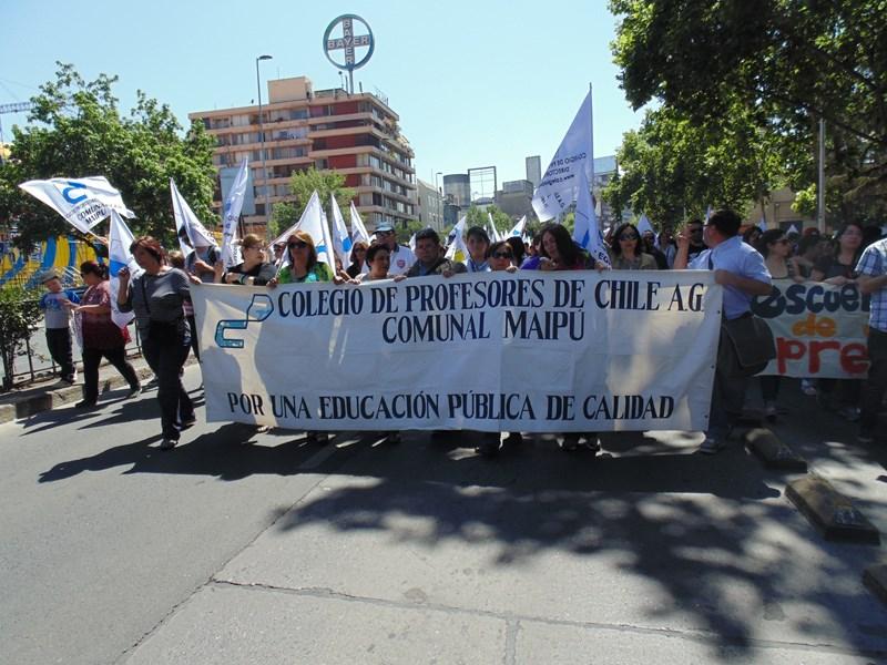 COMUNICADO: COLEGIO DE PROFESORES COMUNAL MAIPÚ