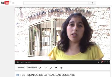 TESTIMONIOS DE LA REALIDAD DOCENTE