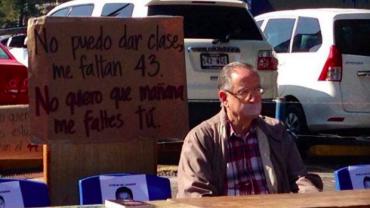 VOTO DE REPUDIO A LAS AUTORIDADES MEXICANAS POR DESAPARICIÓN DE 43 ESTUDIANTES NORMALISTAS