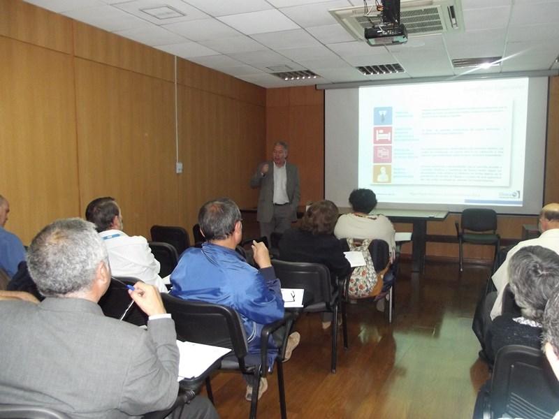 INTERESANTE  REUNIÓN  INFORMATIVA  DE DIRIGENTES REGIONALES Y COMUNALES CON HOSPITAL DEL PROFESOR