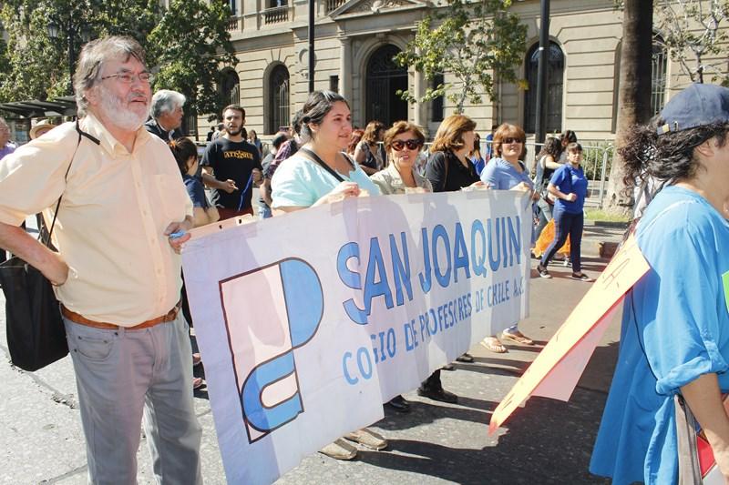 BUENAS NOTICIAS PARA EL COLEGIO DE PROFESORES DE SAN JOAQUÍN