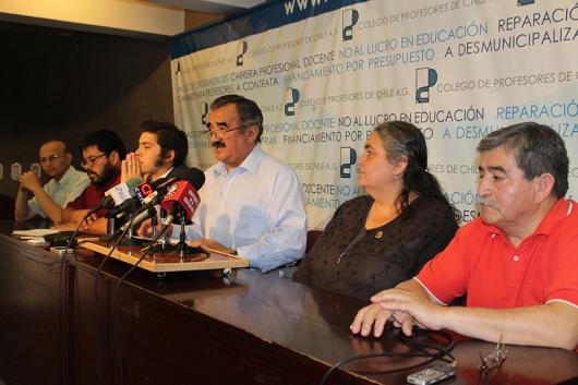 PROFESORES, ESTUDIANTES, APODERADOS Y ASISTENTES LLAMAN A PARO NACIONAL SOLIDARIO