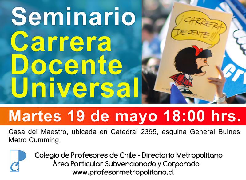 SEMINARIO CARRERA DOCENTE UNIVERSAL