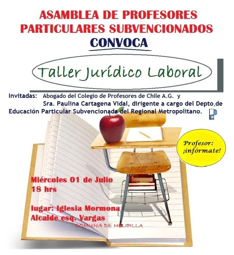 TALLER JURÍDICO LABORAL