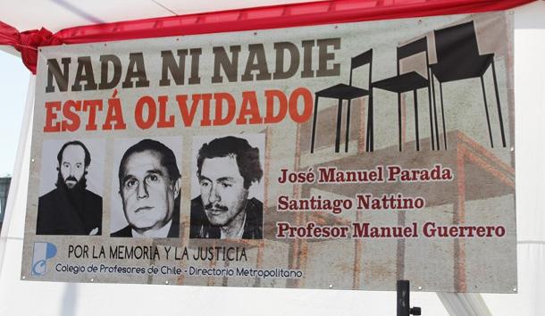 MAGISTERIO CONDENÓ LIBERTAD AL ASESINO DE PARADA, GUERRERO Y NATTINO