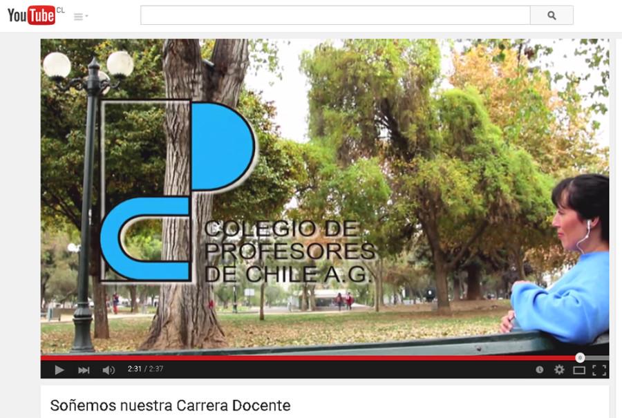 MAGISTERIO LANZÓ VIDEO SOÑEMOS NUESTRA CARRERA DOCENTE