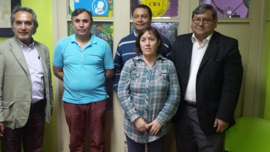 FELICITACIONES AL NUEVO DIRECTORIO DEL COLEGIO DE PROFESORES DE SAN JOSÉ DE MAIPO