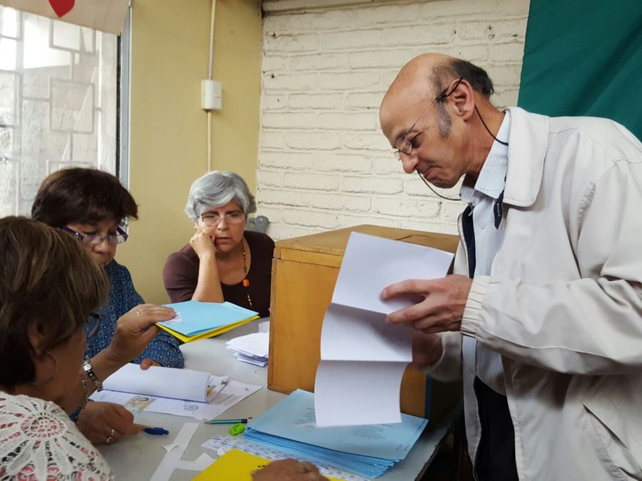NORMAL DESARROLLO DE LAS ELECCIONES EN EL MAGISTERIO