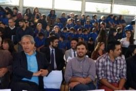 Presencia gremial en inauguración de año escolar en Pedro Aguirre Cerda