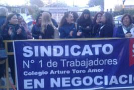 Comunicado: Trabajadores de Escuelas de la familia Matte en huelga y negociación colectiva