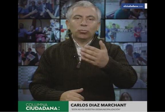 Pdte. Regional inaugura Columna-Video en El Ciudadano