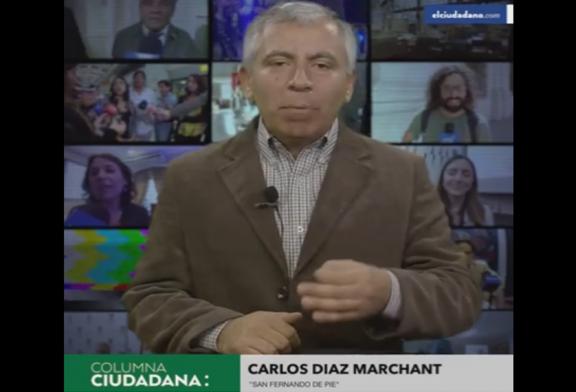 """Carlos Díaz Marchant analiza resultados de Consulta e implicancias de la """"Deuda Histórica 2.0"""" en columna/video para El Ciudadano"""