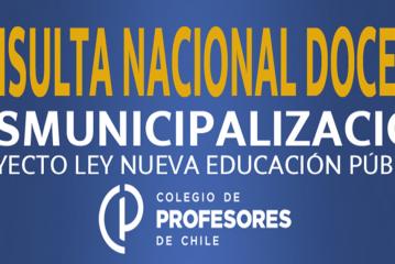 """Tendencia en Consulta Nacional: Rechazo a """"desmunicipalización"""" del Gobierno llega al 80%"""