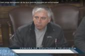 """Carlos Díaz Marchant exige """"No + profesores enfermos"""" en pleno Congreso"""