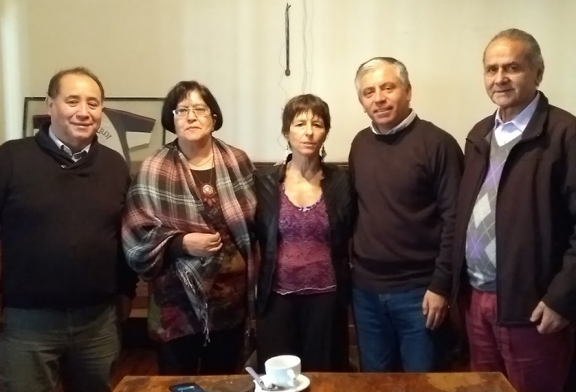 Regional Metropolitano se reúne con diputada Cristina Girardi por proyecto de Ley NEP