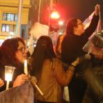 Concurrida Velatón marca las jornadas de movilización contra la ley NEP en la Región Metropolitana