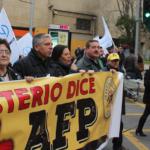 Miles marcharon en todo el país reafirmando la oposición a las AFP