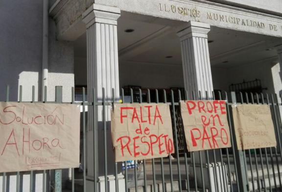 La Cisterna en Paro: Rebajas en salarios y descuentos arbitrarios