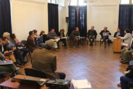 Encuentro de Regionales de todo el país en la Casa del Maestro