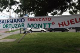 Presidente Regional entrega apoyo a trabajadores en huelga del Liceo Salesianos Camilo Ortúzar Montt de Macul