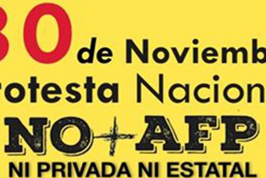 Colegio de Profesores se suma a jornada contra las AFP
