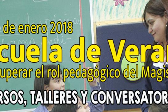 Colegio de Profesores retoma 'Escuelas de Verano' profundizando en la auto-reflexión profesional