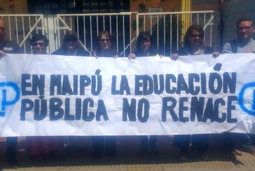 Denuncia de ola de despidos masivos contra profesores de Maipú