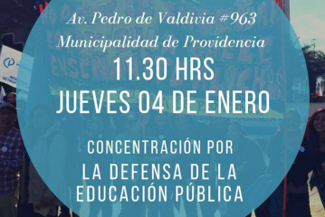 PROVIDENCIA: Convocan a movilización frente a I. Municipalidad de dicha comuna