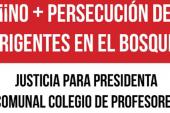 Pdta. Comunal El Bosque Paola Ossandón es defendida ante concejo municipal