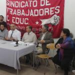 Docentes exigen plazo para pago íntegro de sueldos por parte del SLE Barrancas