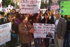 Profesores del SLE Barrancas se movilizan y se suman al Paro docente ante sueldos aún impagos