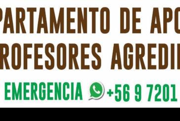 Se inauguró Fono Urgencia para docentes agredidos