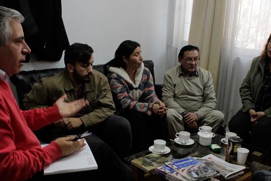 Dirigentes del futuro SLE Gabriela Mistral inician reuniones con Metropolitano