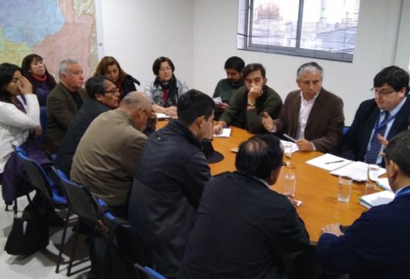Reunión con SEREMI para resolver dudas sobre SLE Gabriela Mistral