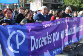 Gremio docente plantea propuesta e informe sobre 'educación no sexista'