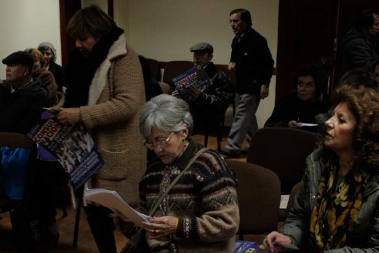 Profesores jubilados se reúnen en una nueva asamblea metropolitana