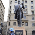 Pdte. Pedro Aguirre Cerda es homenajeado en la Plaza de la Constitución