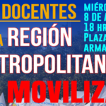 Convocatoria a movilización este 8 de agosto