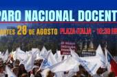 Instructivo oficial del Paro Nacional Docente del 28 de agosto