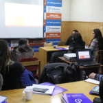 Gran concurrencia a taller sobre portafolio y evaluación docente