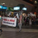 Masivas velatones cerraron jornada de movilización