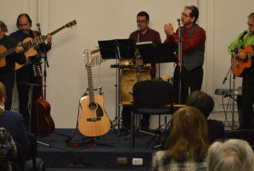 Grupo folclórico Quipamán realiza show en Casa del Maestro para profesores jubilados