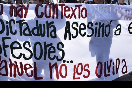 Memoria docente: el homenaje del magisterio a las y los profesores víctimas de la dictadura