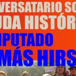 Diputado Tomás Hirsch en conversatorio sobre la Deuda Histórica