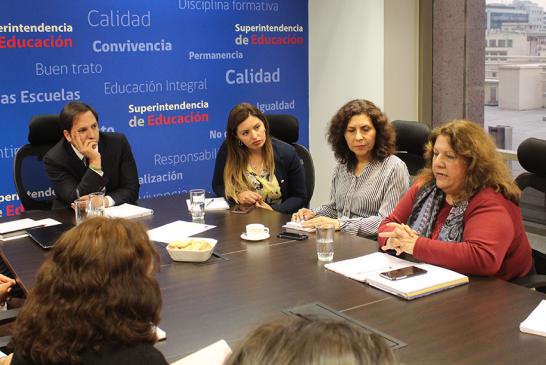 """Reunión con Seremi y Superintendente de Educación ante casos de violencia y proyecto de ley """"Aula segura"""""""