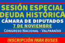 Decenas de profesores viajarán a Valparaíso por sesión especial de Cámara Baja sobre Deuda Histórica