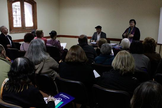 Asamblea de jubilados contó con charla previsional